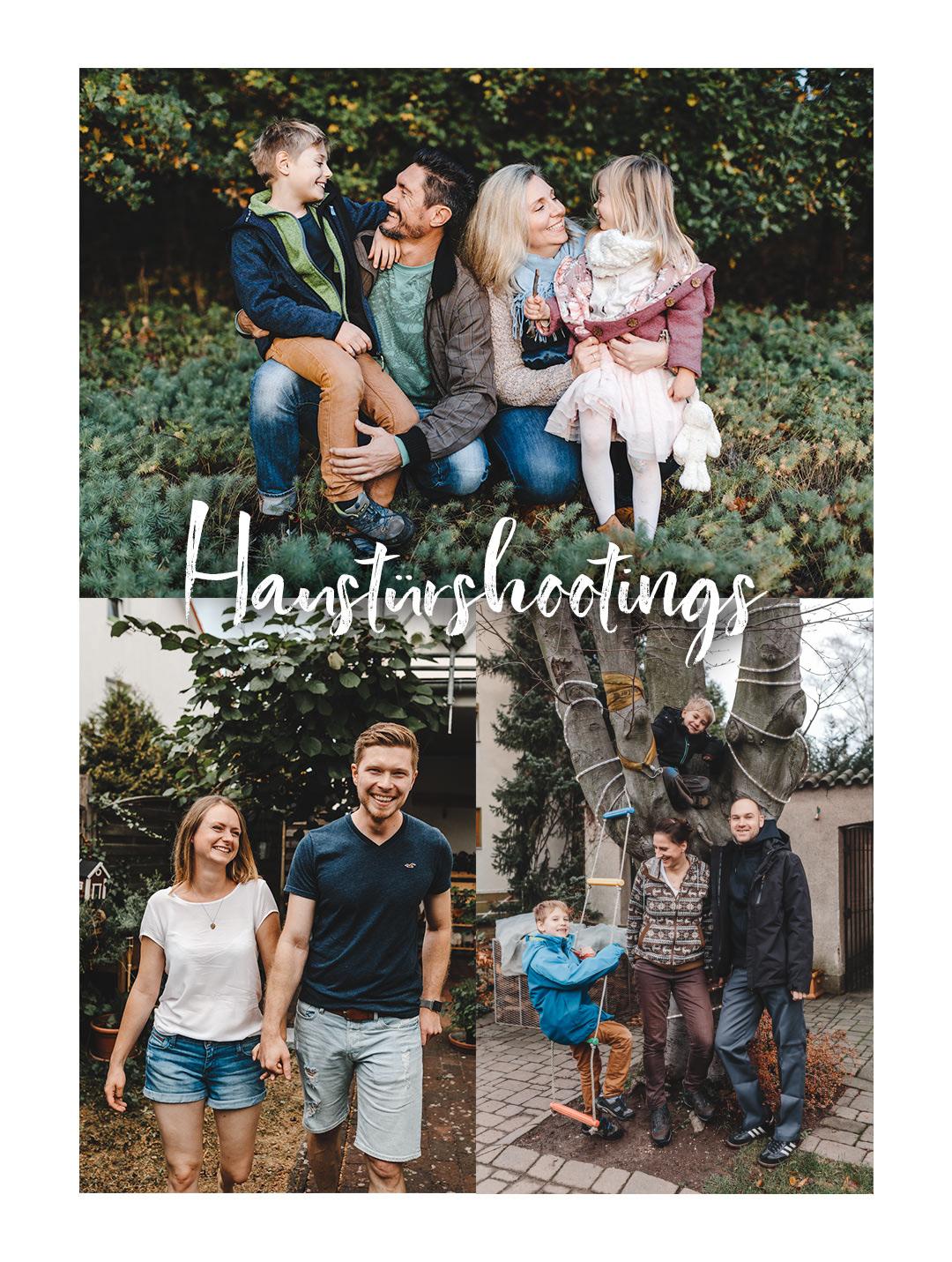 Haustürshootings für Familien und Paare